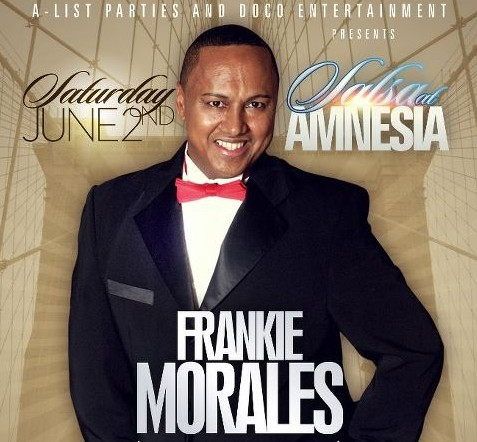 A-List Parties & Doco Entertainment Present Frankie Morales At Amnesia Supper Club