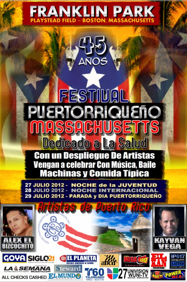 Franklin Park Festival Puertoriqueno Massachusetts