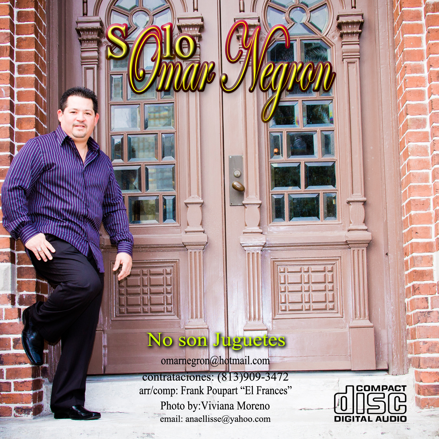 "Review: Omar Negron ""No Son Juguetes"""
